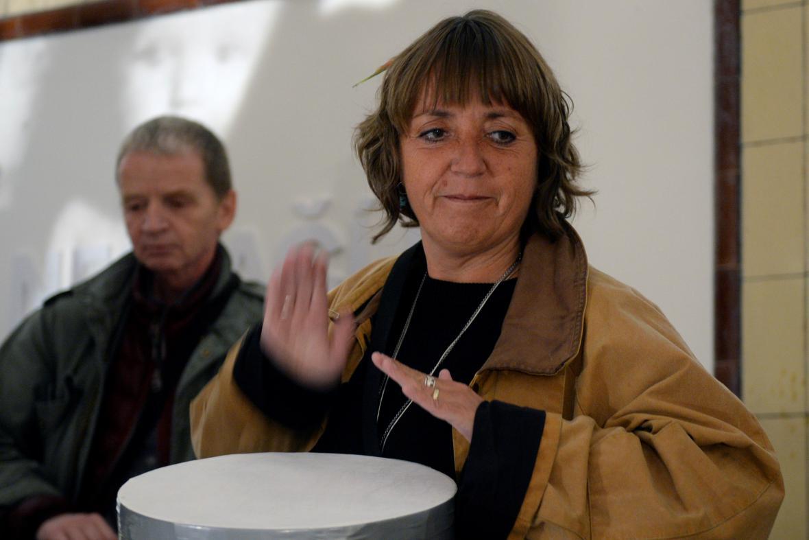 Akce Bubnování pro Bubny se zúčastní také herečka Bára Hrzánová
