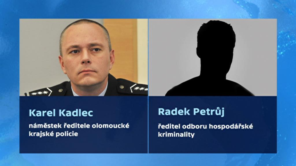 Policisté Karel Kadlec a Radek Petrůj