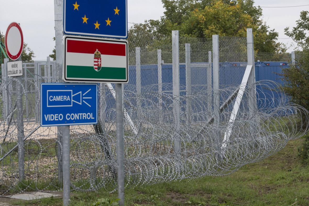 Maďarská hranice s Chorvatskem