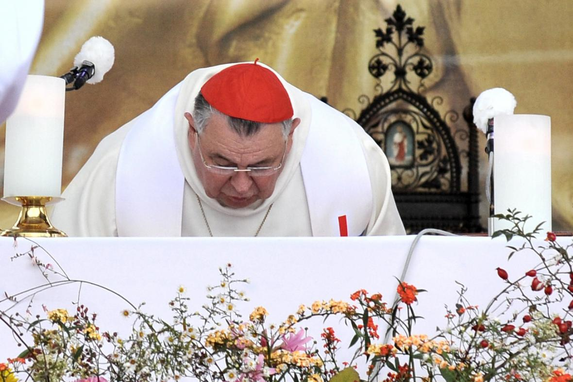 Národní eucharistický kongres, na snímku kardinál Dominik Duka
