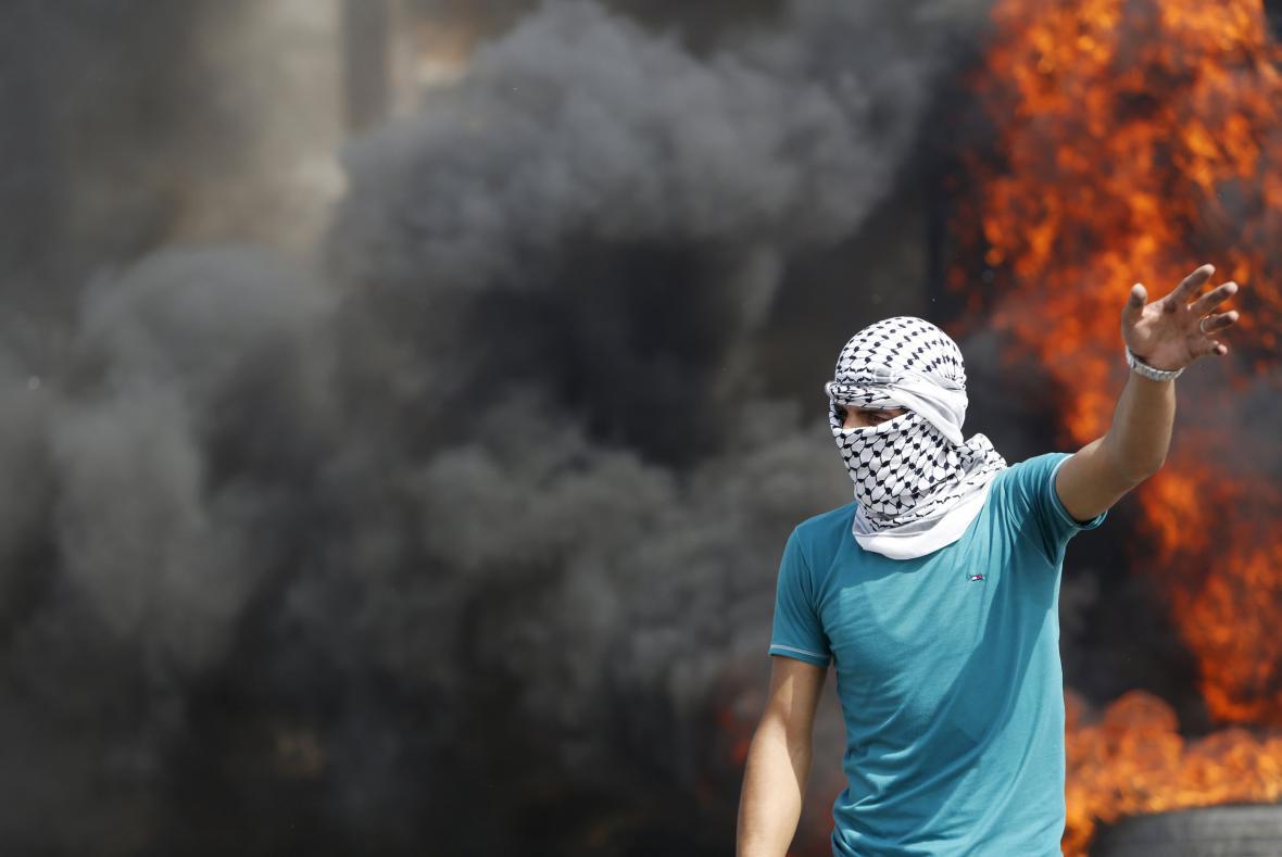Protesty Palestinců na Západním břehu Jordánu