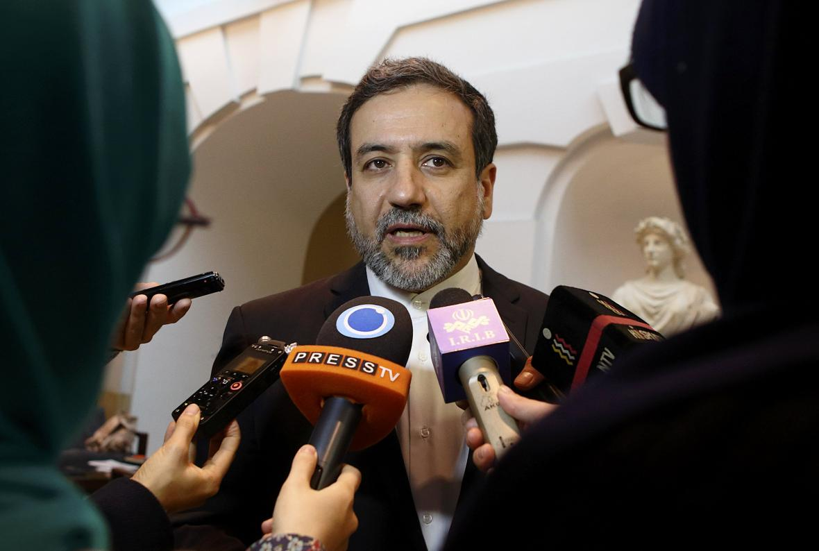 Hlavní íránský vyjednávač Abbás Arákčí