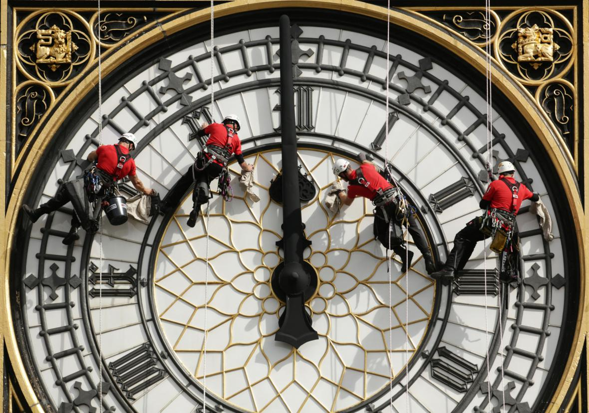 Big Ben čekají nutné opravy