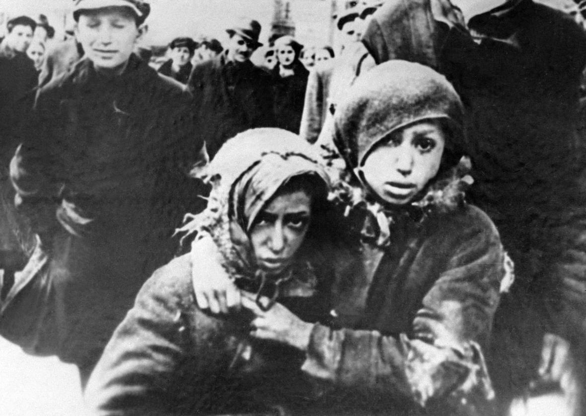 Děti z varšavského ghetta