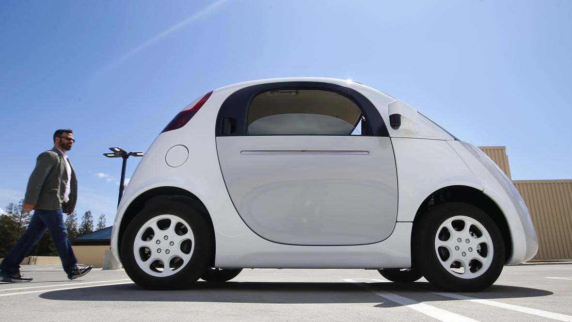 Prototyp samořídícího auta od Googlu