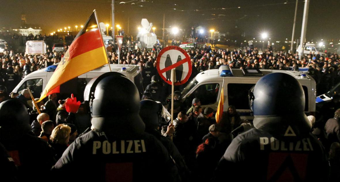 Drážďanská demonstrace Pegidy
