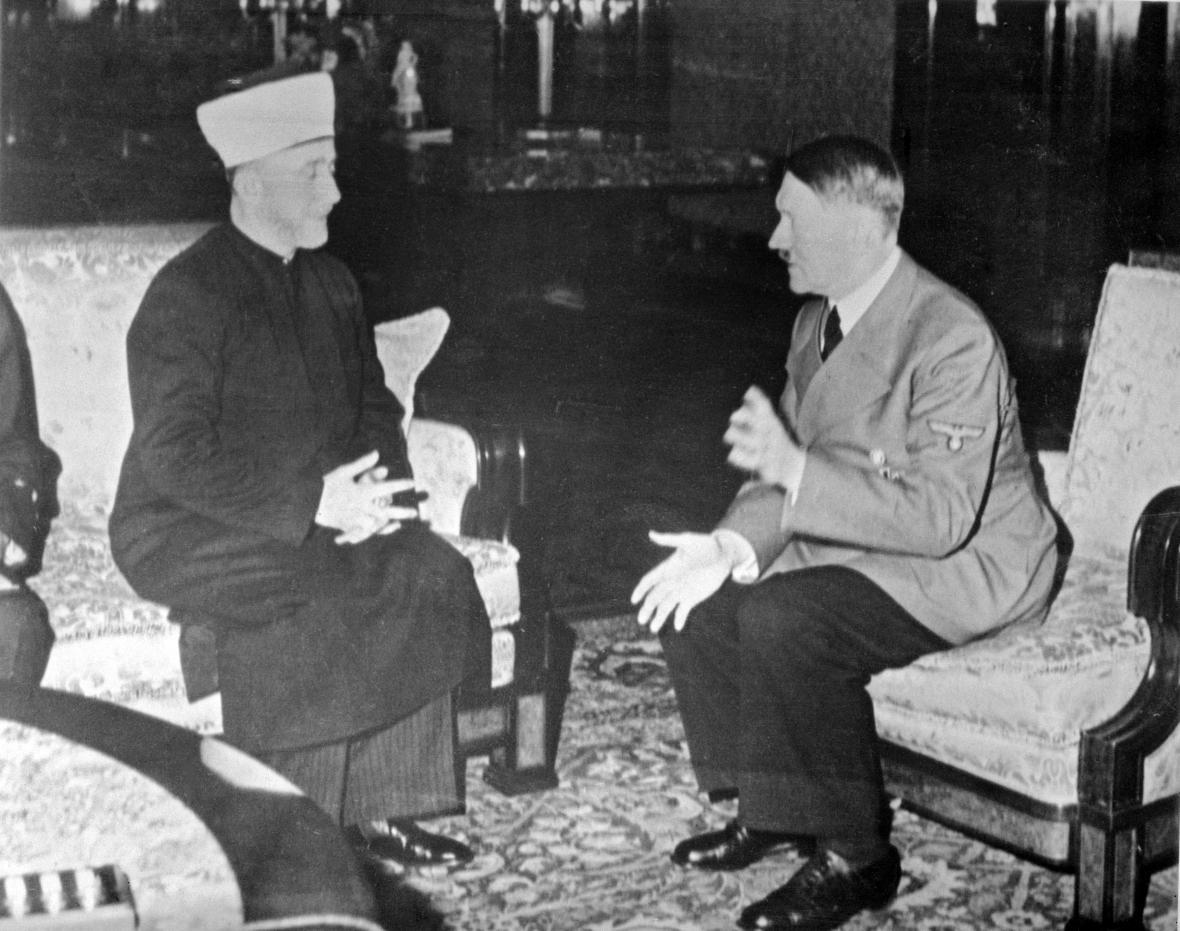 Adolf Hitler a muftí Muhammad Amín Husajní
