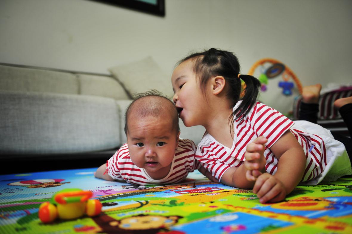 Děti v Číně