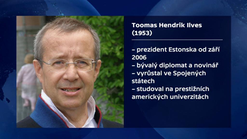 Vizitka estonského prezidenta