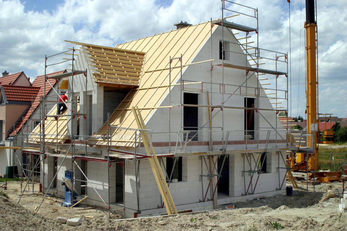 Stavba rodinného samostatného domu