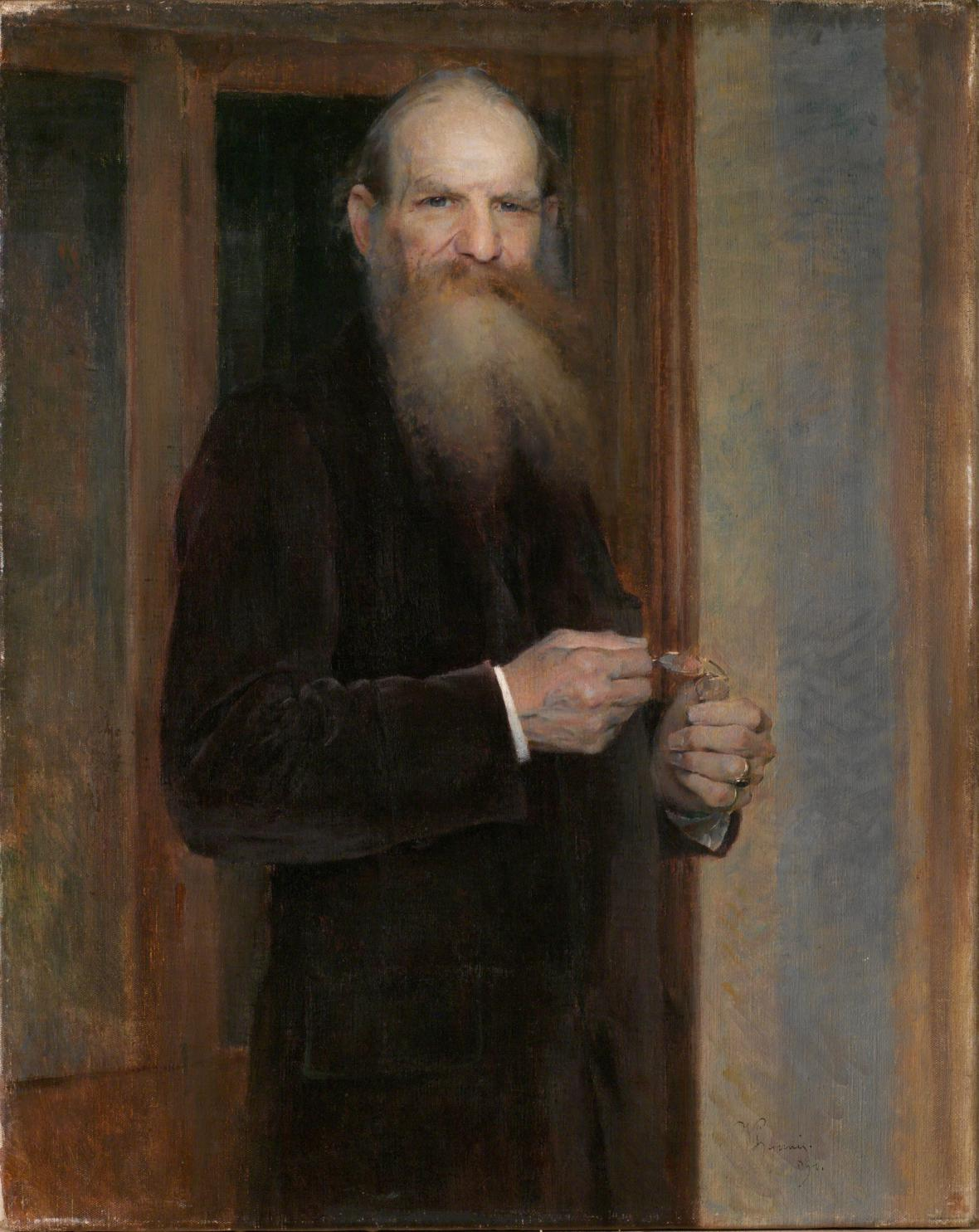 Vojtěch Hynais, Podobizna Josefa Hlávky, 1894