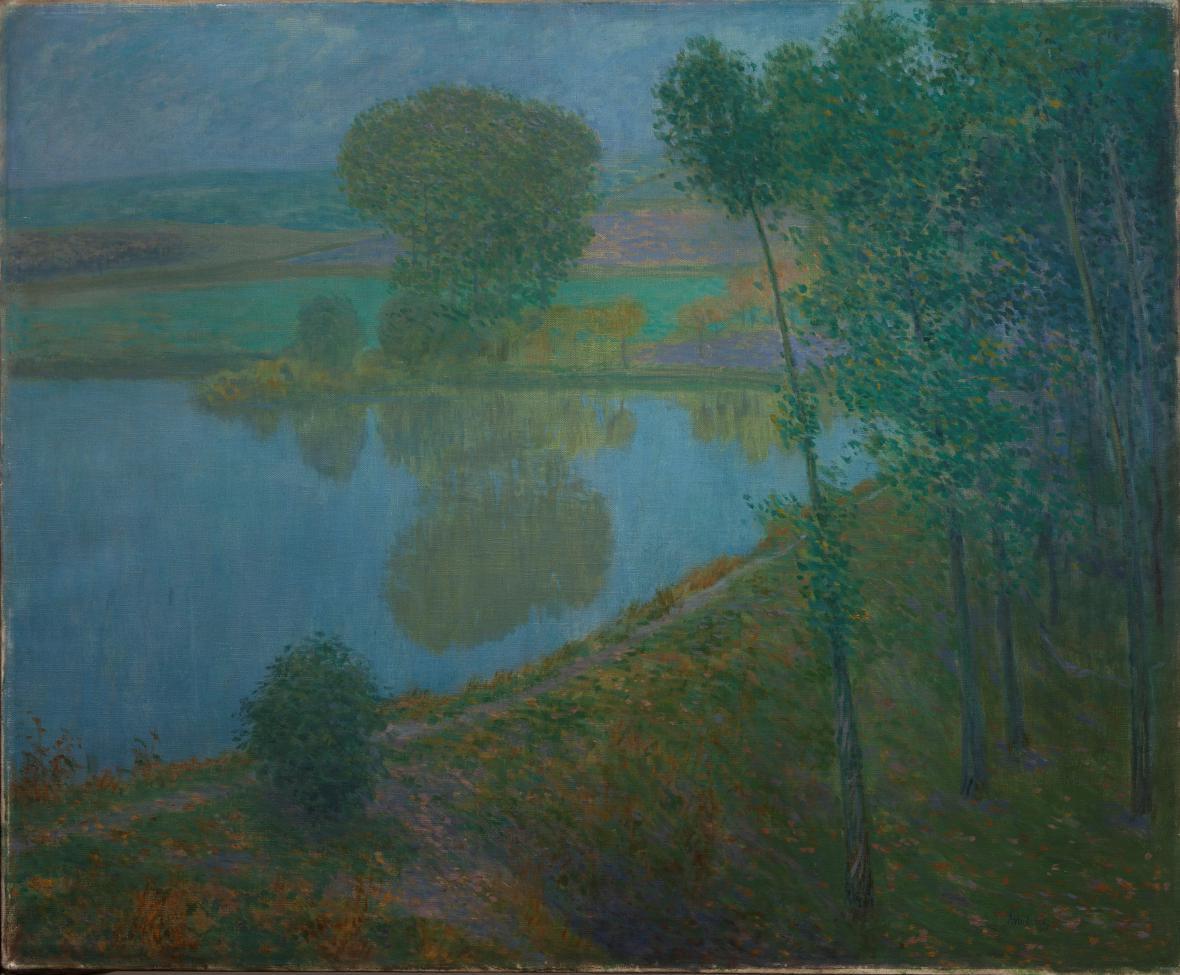 Antonín Hudeček, Podzimní večer, 1901