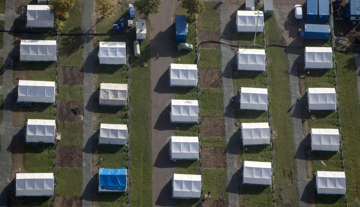 Zařízení pro uprchlíky v Hamburku