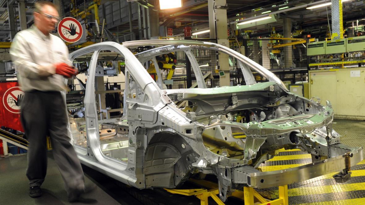 Továrna Opelu v německém Bochumu