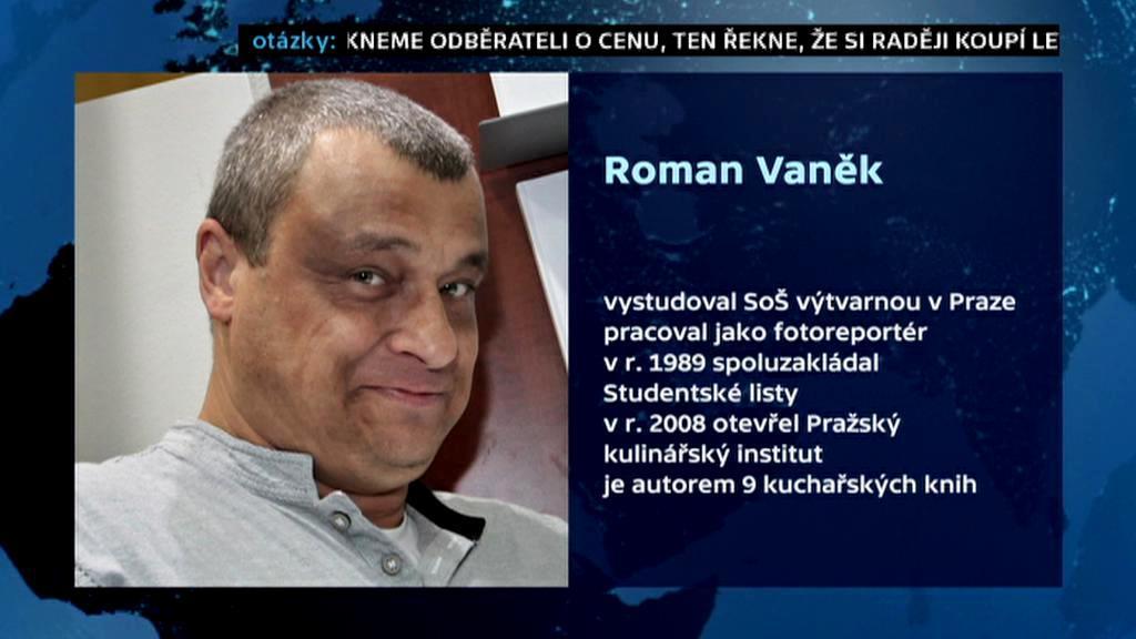 Vizitka Romana Vaňka