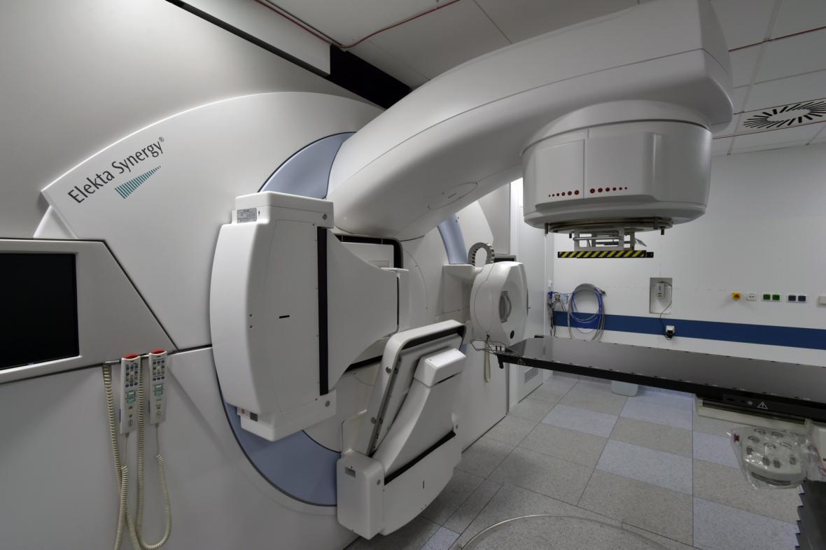 Nový lineární urychlovač na chebské onkologii
