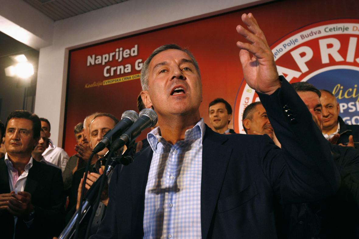 Protesty Černohorců v Podgorici