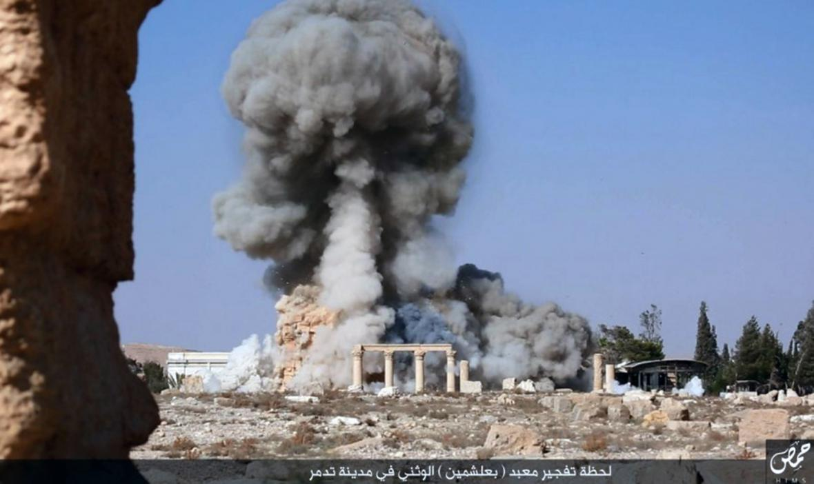 Islamisté ničí Palmýru