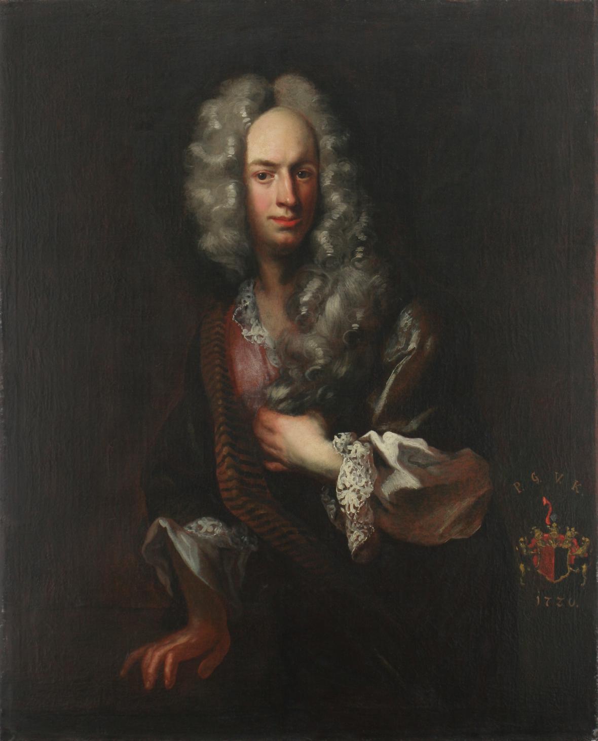 Filip Kristián Bentum / Podobizna Petra Františka Kokořovského, 1720