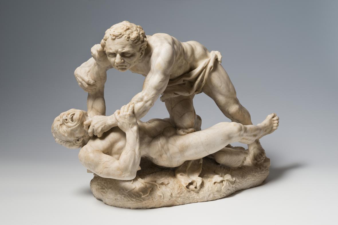 Lazar Widemann / Dvojice zápasících mužů, před 1730