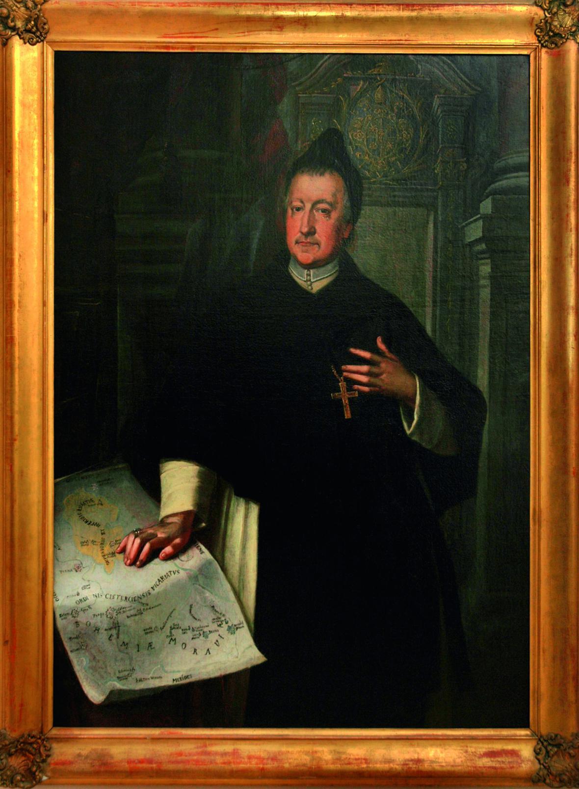 Portrét opata Evžena Tyttla, po roce 1725, neznámý malíř