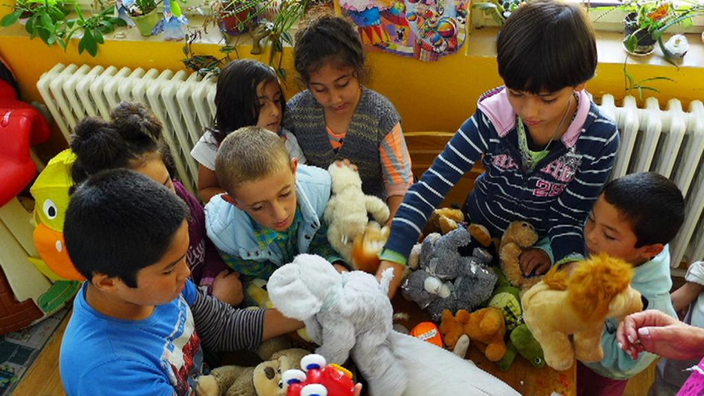 Děti migrantů v Bělé