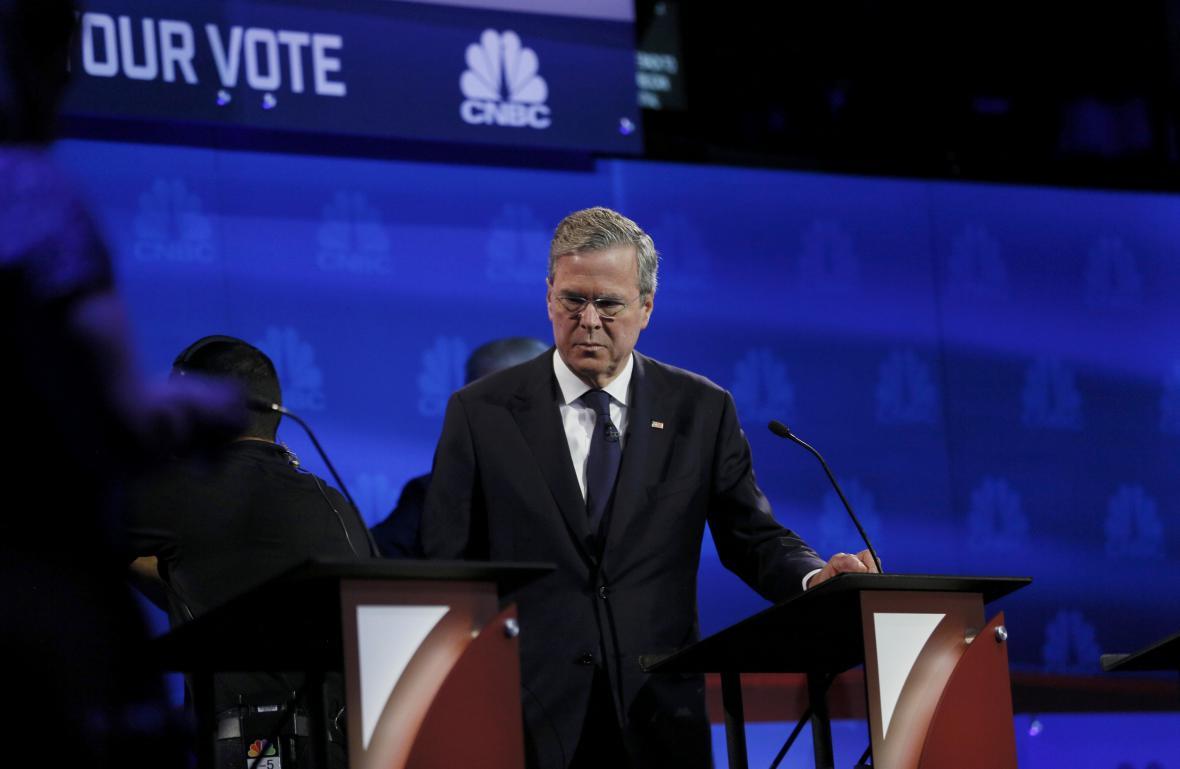 Jeb Bush v debatě neoslnil