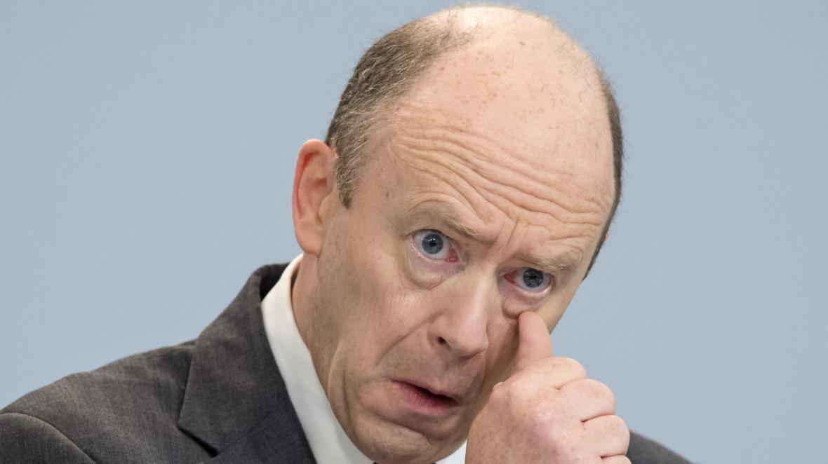 Generální ředitel Deutsche Bank Jaohn Cryan