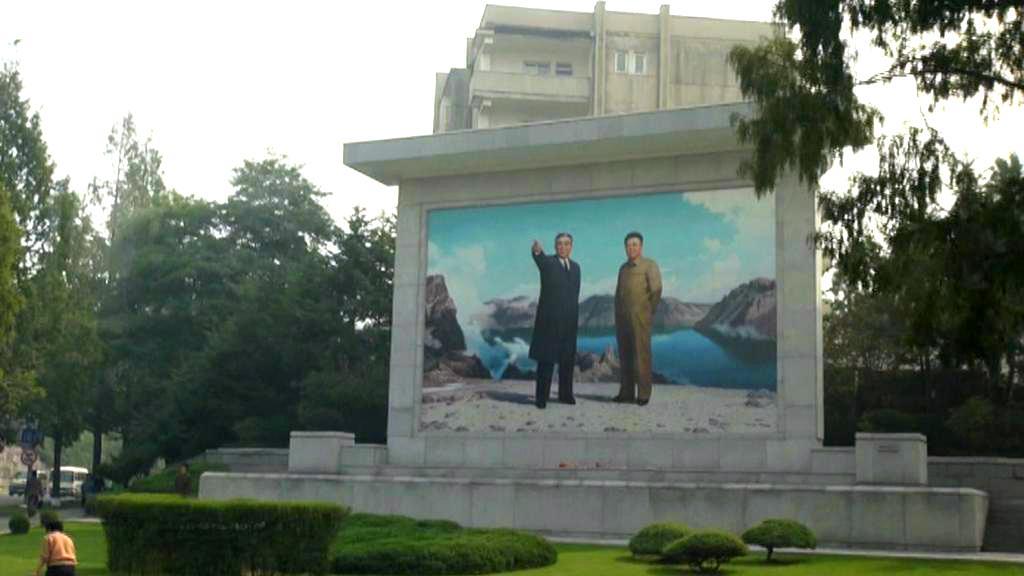 Kult osobnosti dynastie Kimů je v KLDR viditelný na každém kroku
