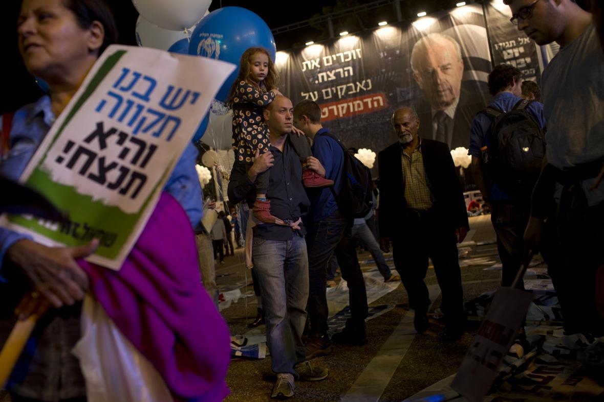 Izraelci si připomínají 20 let od atentátu na Jicchaka Rabina