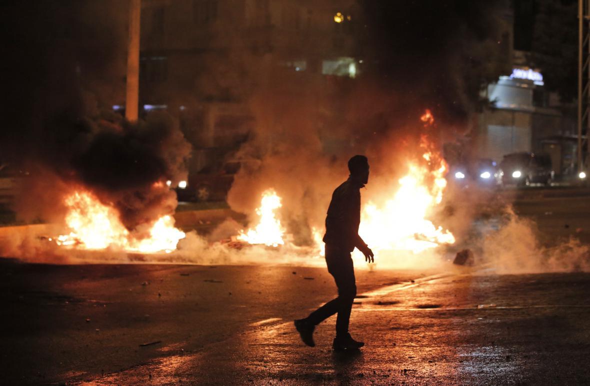 Povolební protesty v Turecku