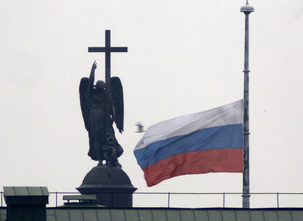 V Rusku až do úterý platí státní smutek
