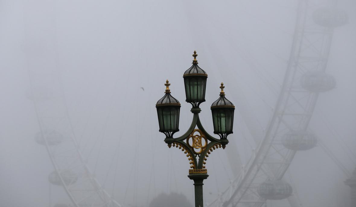 Vyhlídkové kolo Londýnské oko