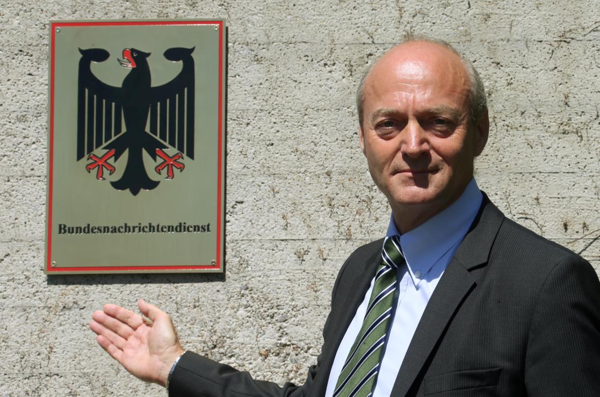 Gerhard Schindler, ředitel německé Spolkové zpravodajské služby (BND)