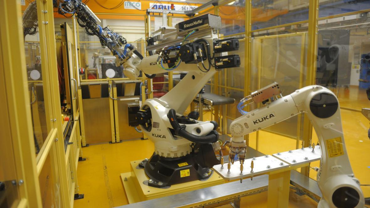 Výroba autodílů v INA Lanškroun