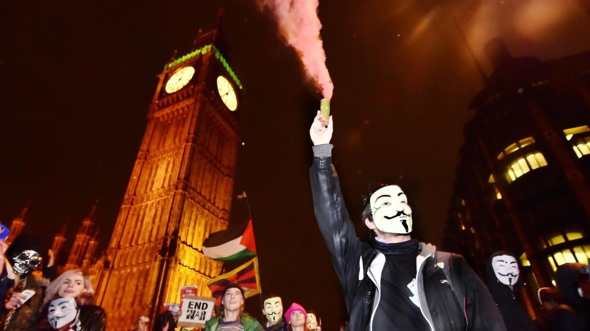 Million Mask March na 5. listopadu