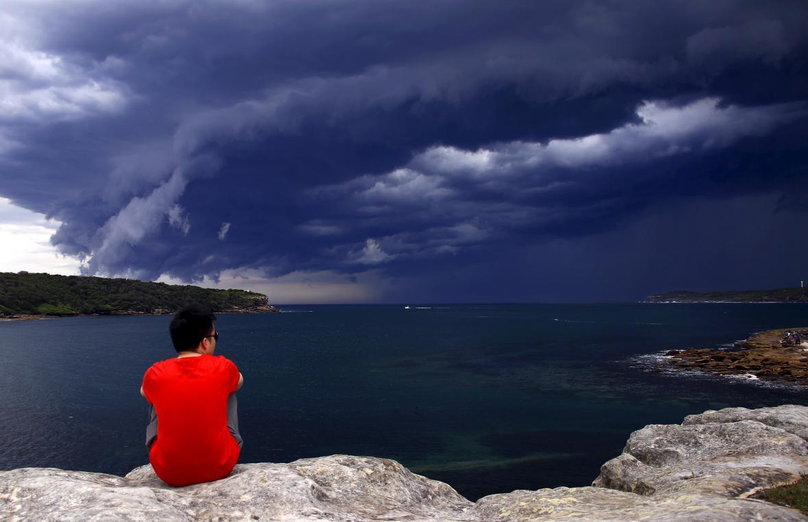 Šelfový mrak v Sydney