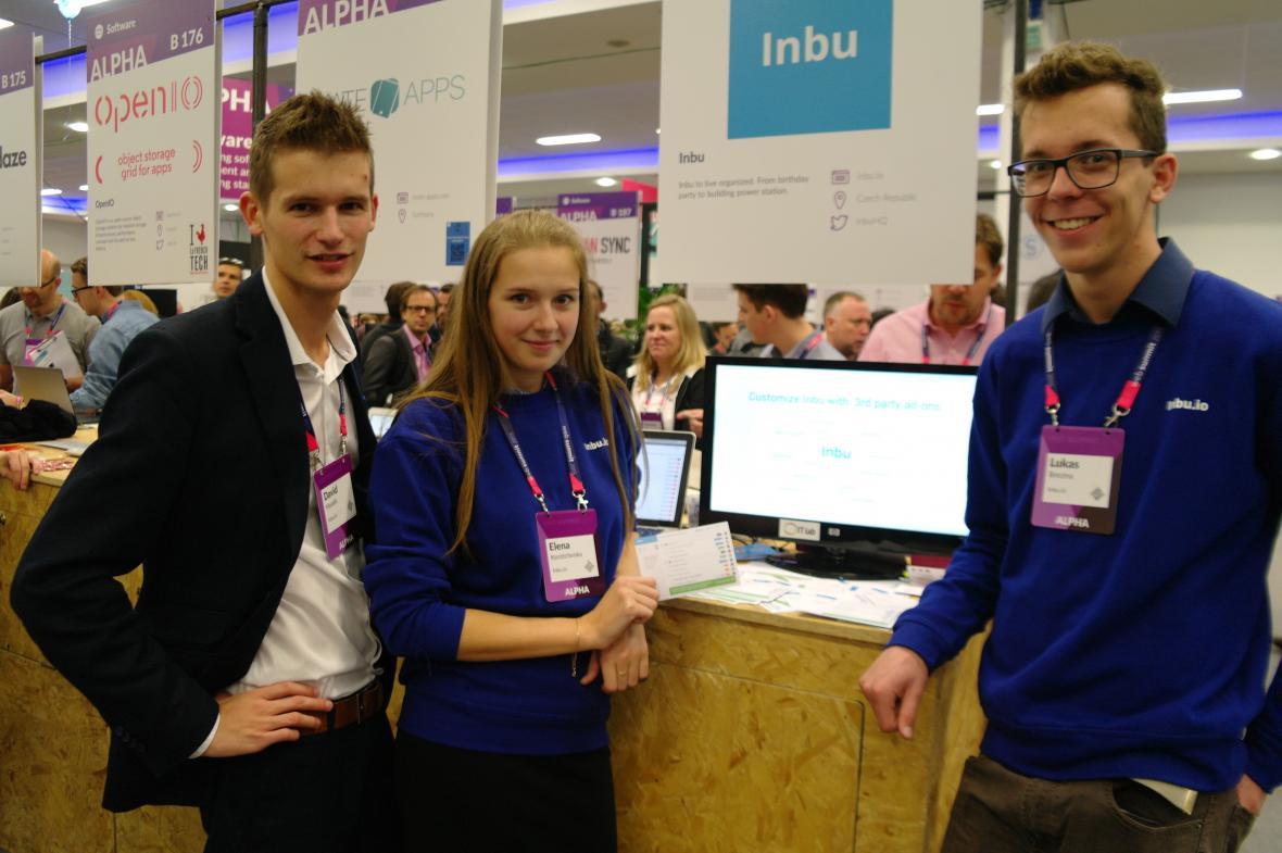 Mladí a průbojní. Inbu  na Web Summitu 2015