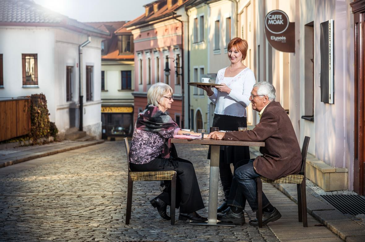 Fotografie z kalendáře mosteckých seniorů