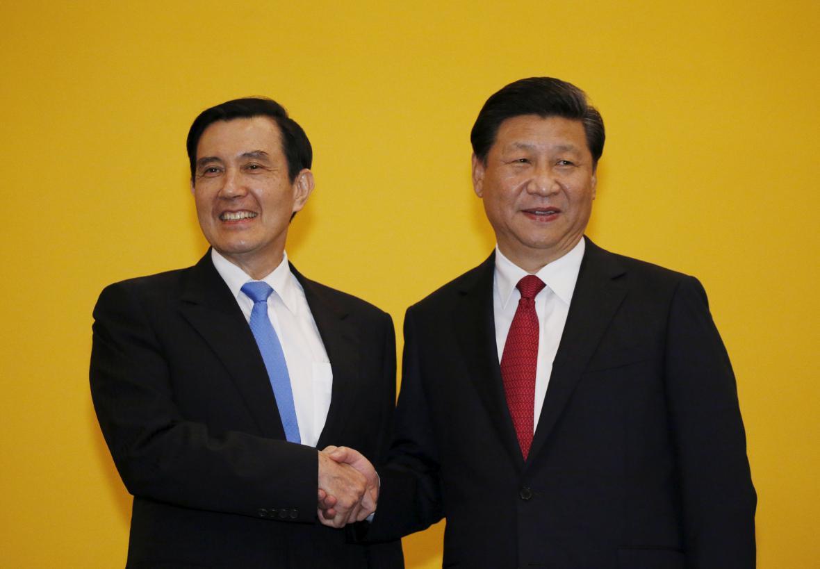 Čínský a tchajwanský prezident