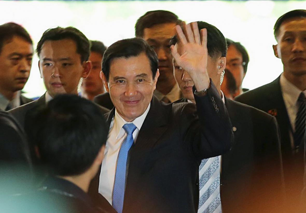 Tchajwanský prezident Ma Jing-ťiou