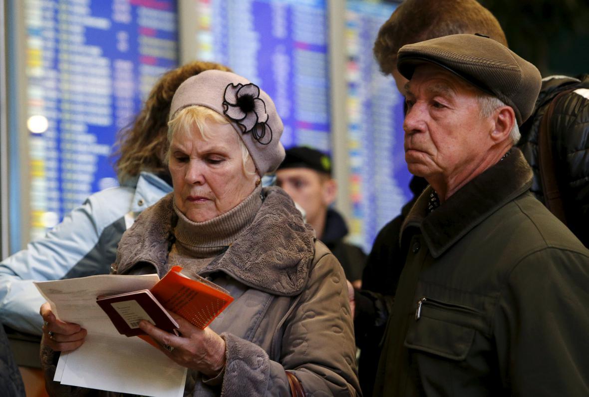 Evakuace turistů z Egypta