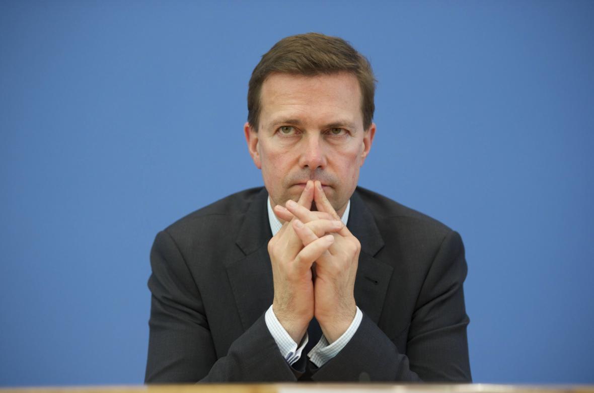 Mluvčí německé spolkové vlády Steffen Seibert
