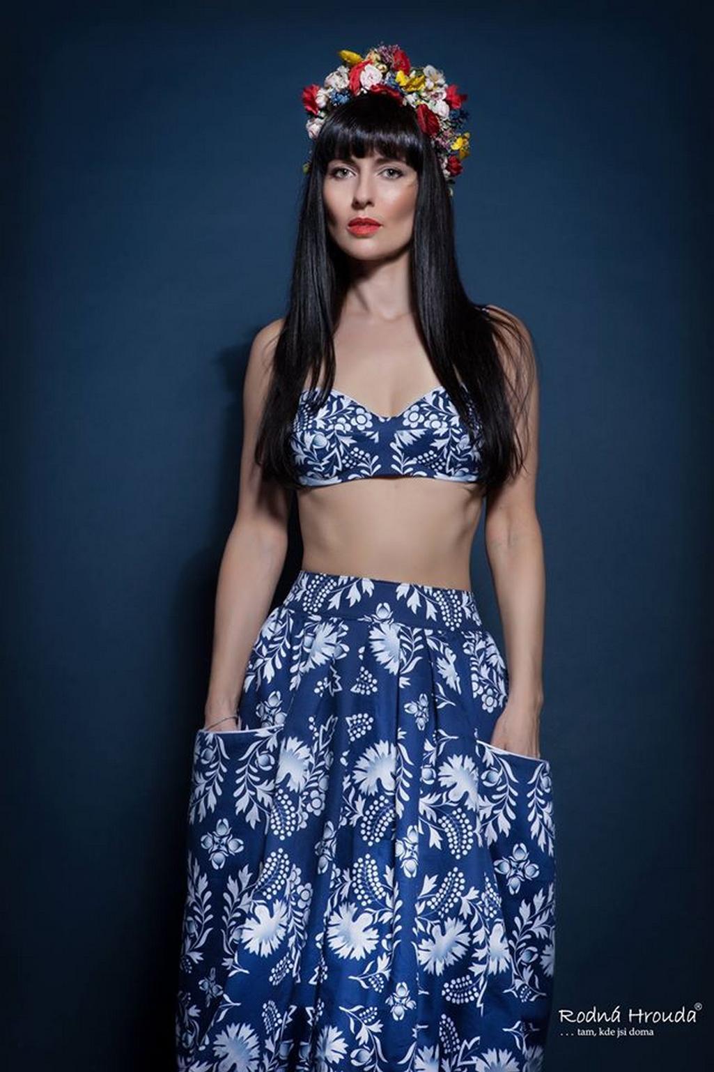 Rodná hrouda - módní značka Marie Staré inspirovaná folklorem