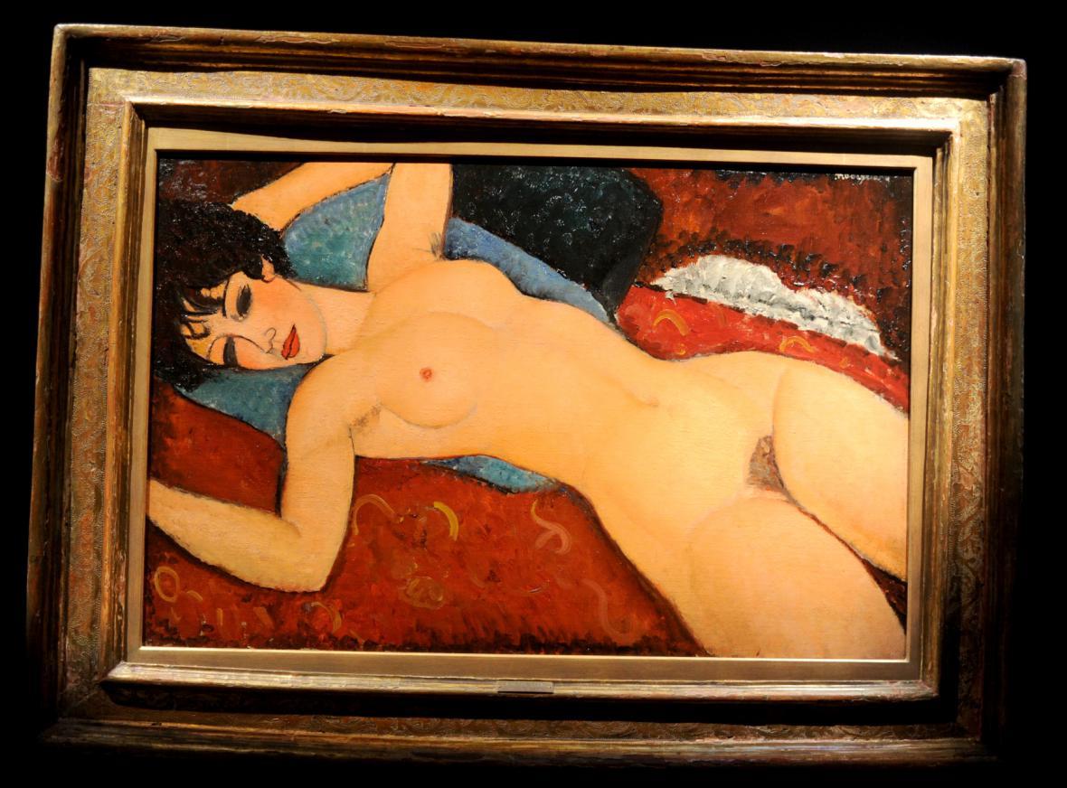 Amedeo Modigliani's / Nu Couche
