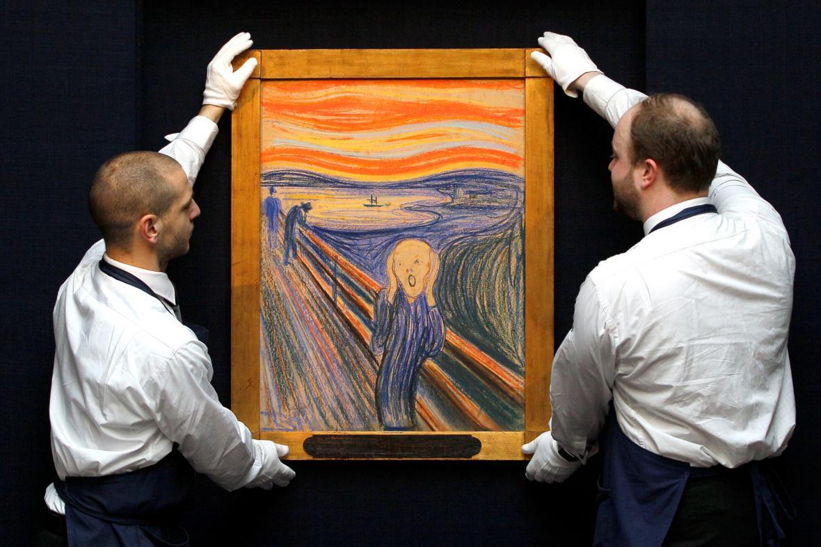 Edvard Munch / Výkřik