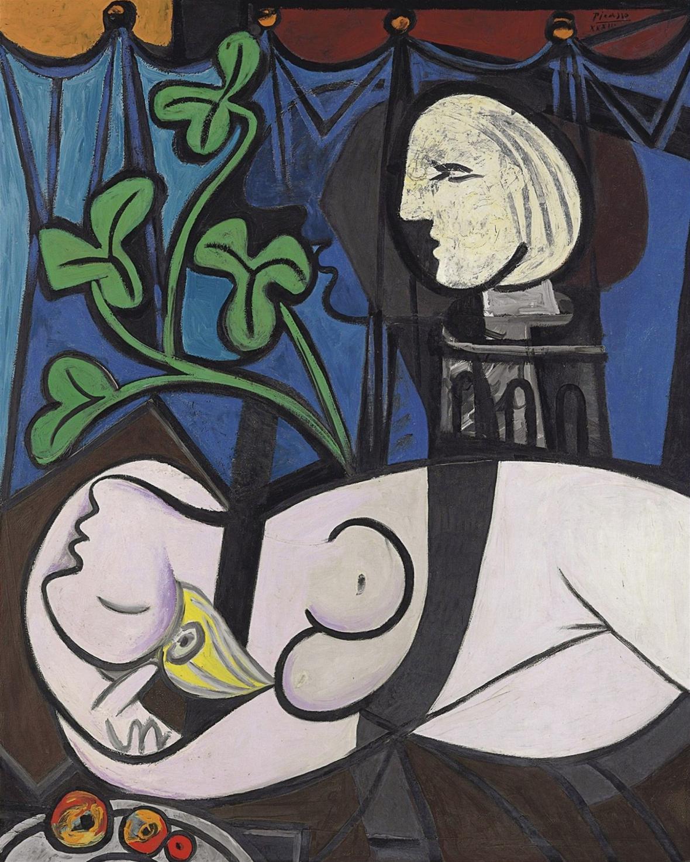 Pablo Picasso / Nahá v sochařském ateliéru