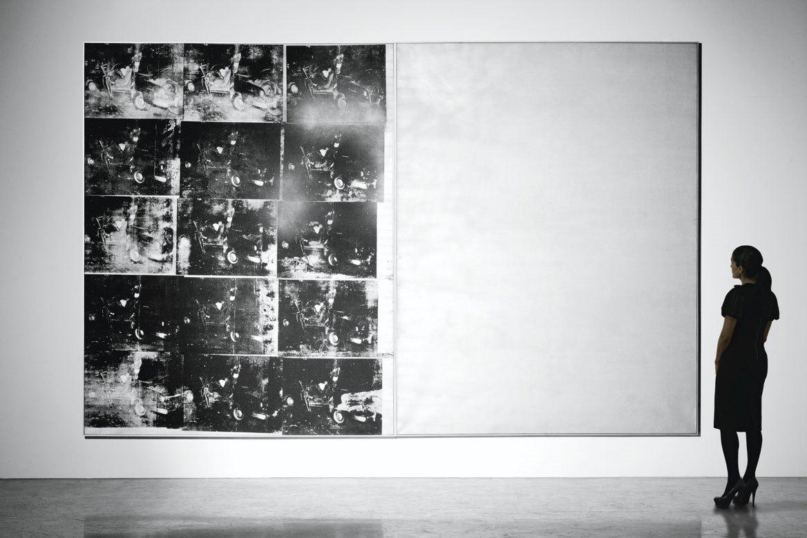 Andy Warhol / Silver Car Crash (Double Disaster)