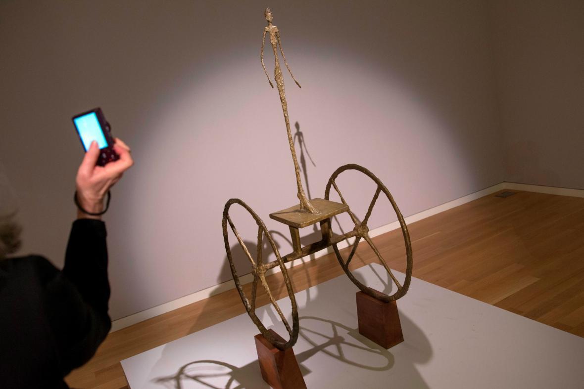 Alberto Giacometti / Kočár