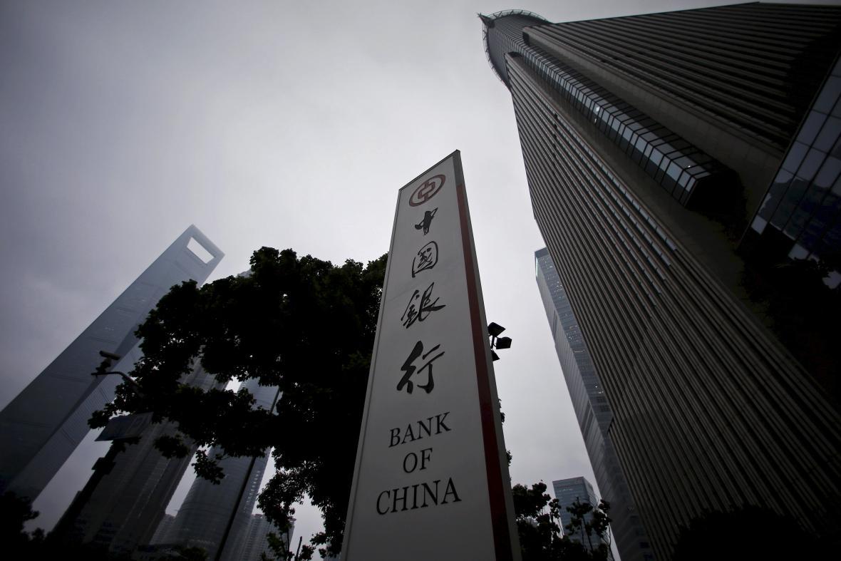 čínské banky